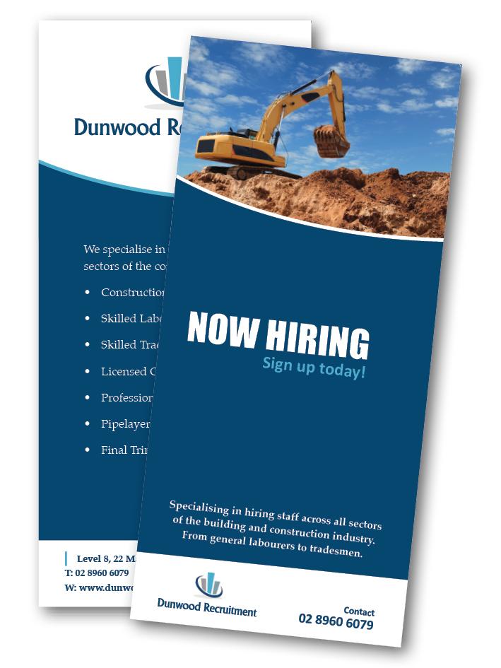 Dunwood Recruitment DL Flyer