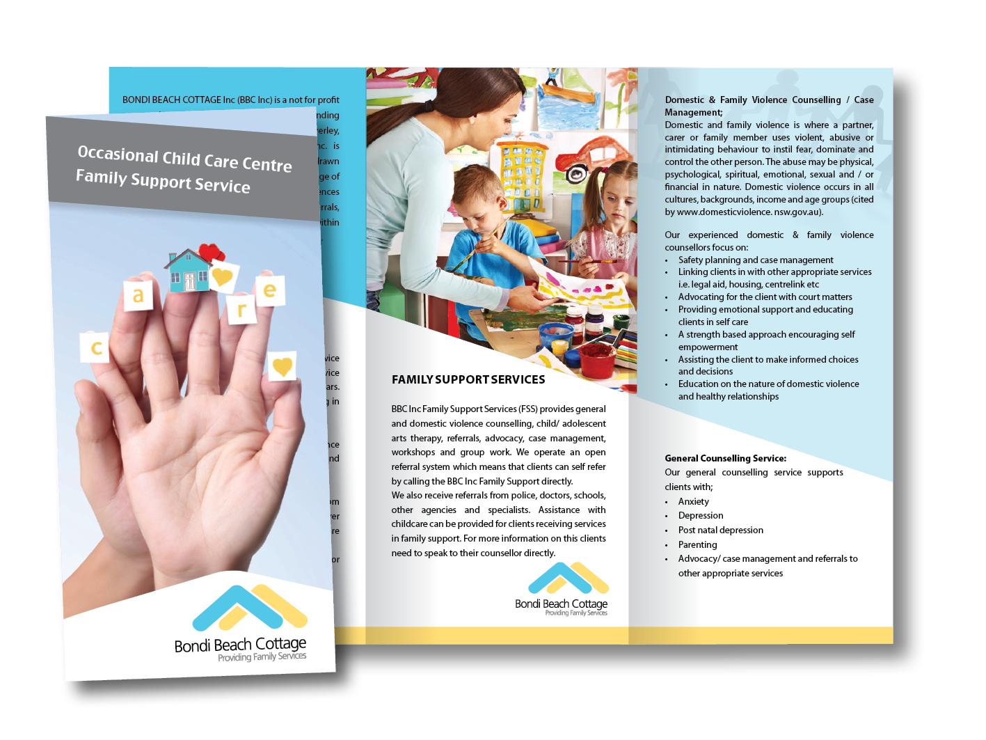 Bondi Beach Cottage Trifold brochure