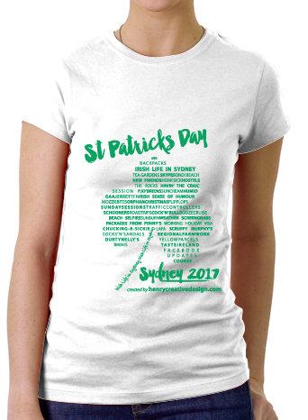 Women's T-Shirt St Patrick's 2017