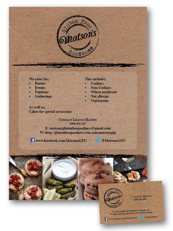 Matsons A5 Flyer & Business Card