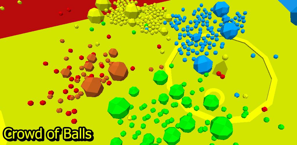 Crowd of Balls
