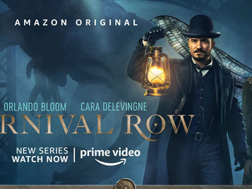 Carnival Row—Streaming Steampunk & Faerie Fantasy
