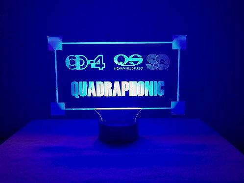 Quadraphonic LED sign