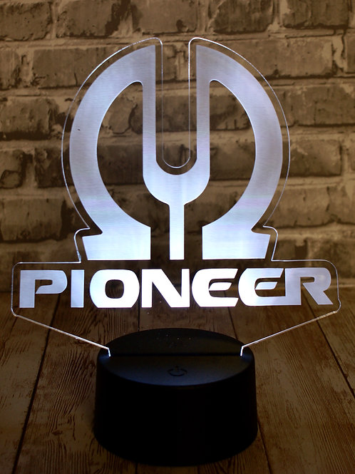 Pioneer Led Sign