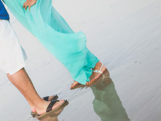 One of my favorite engagement Beach sessions