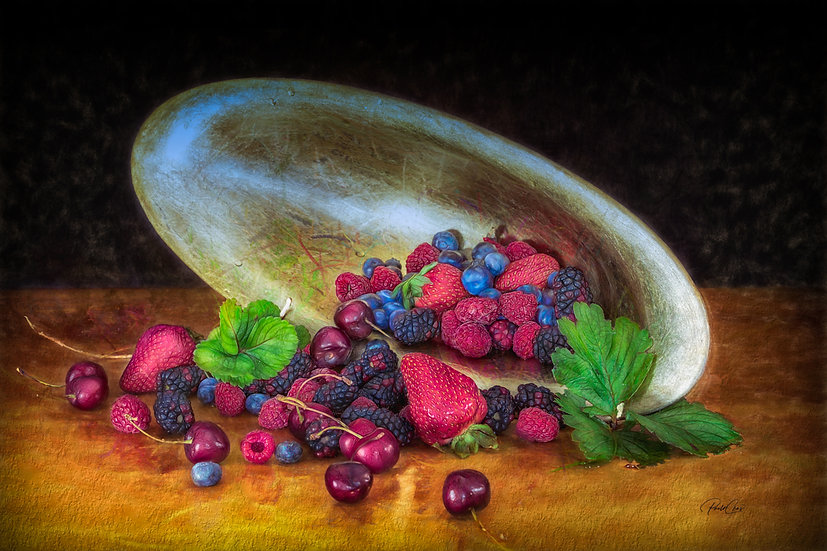 Soft Painted Clumsy Fruits