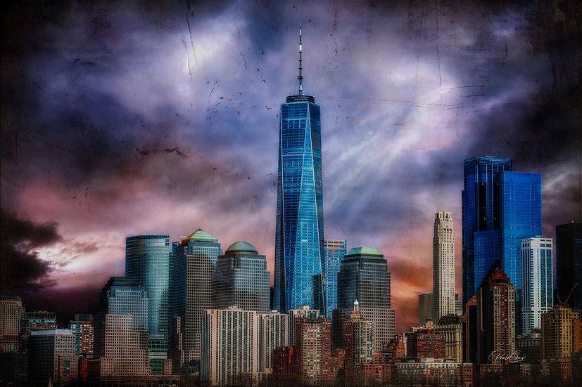 N.Y Skyscrapers I