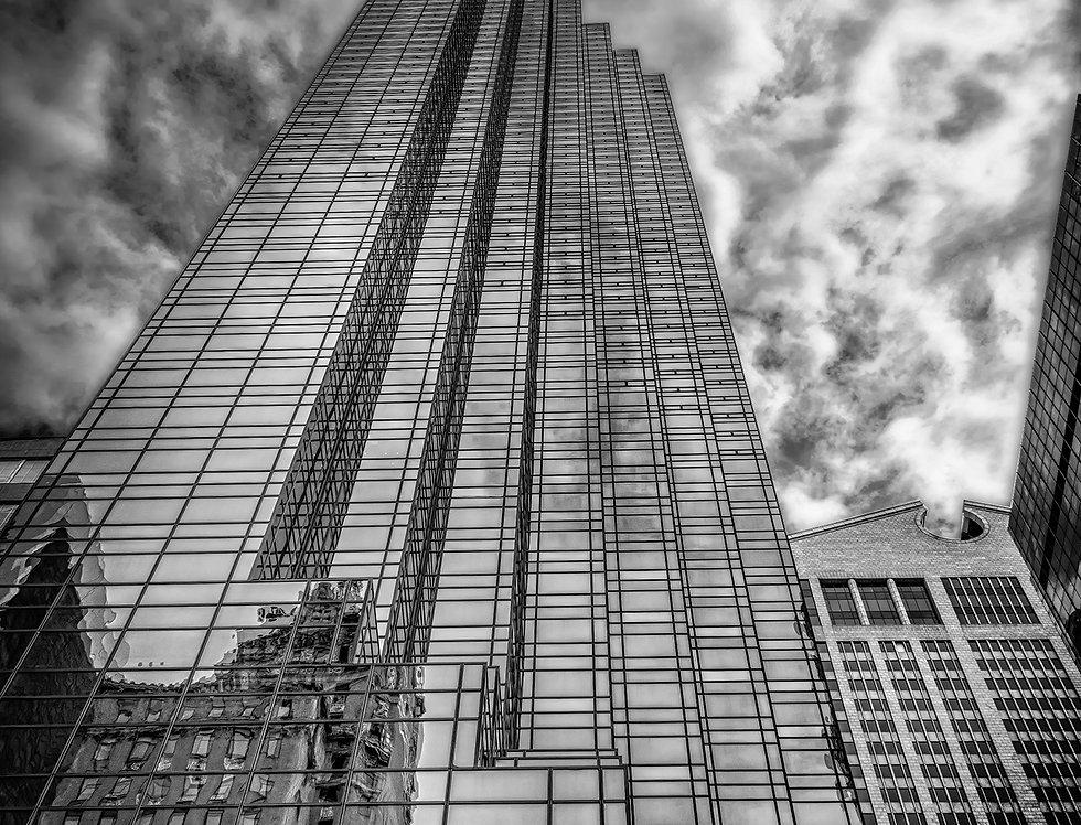 N.Y Skyscrapers IV B&W