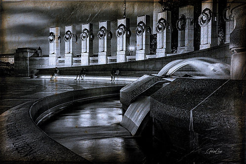 Memorial WWII B&W