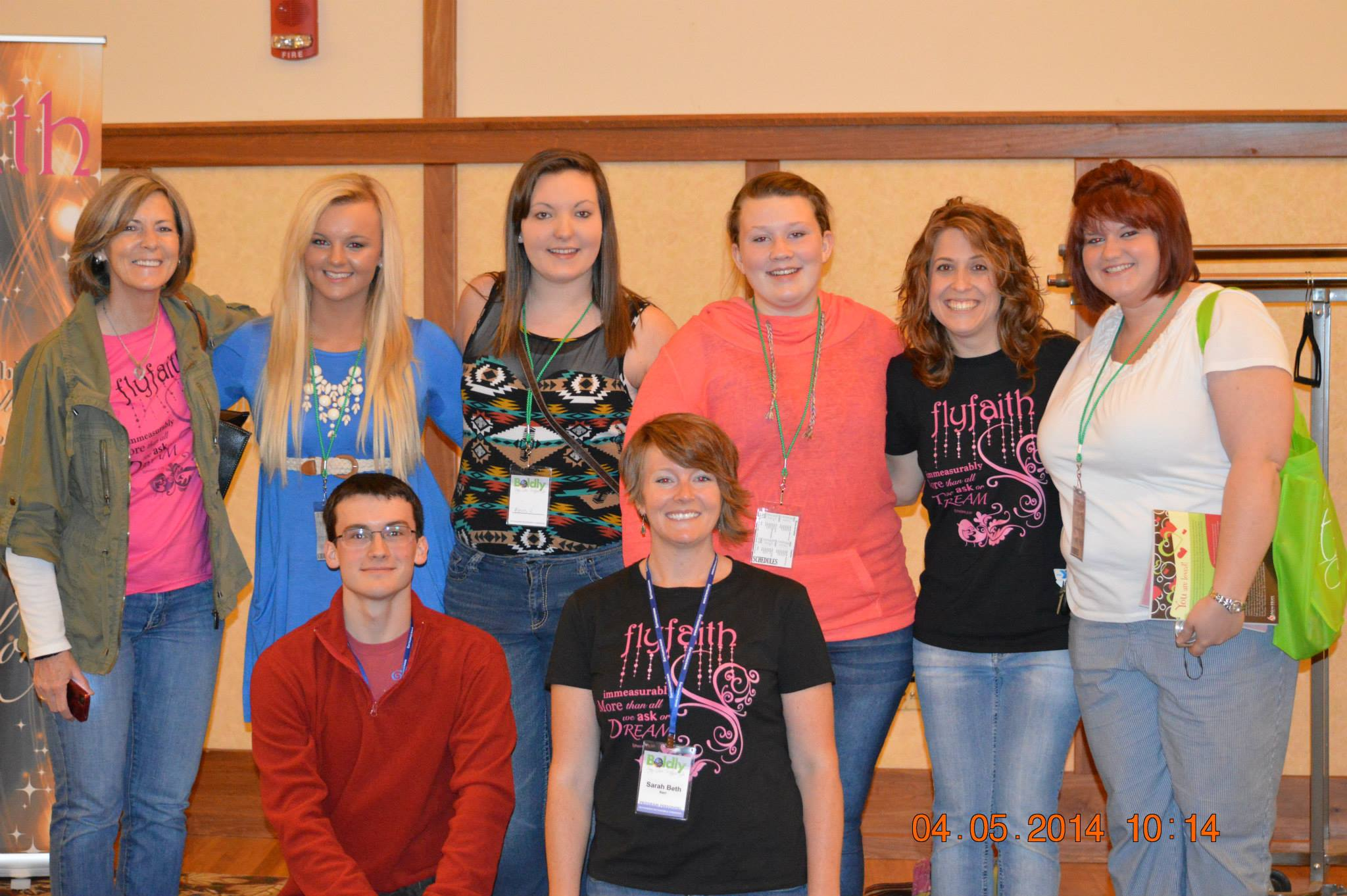 New friends at Connection 2014