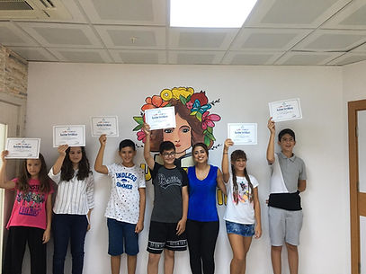 Halkalı ortaokul hızlı okuma grup sertifika törenimiz