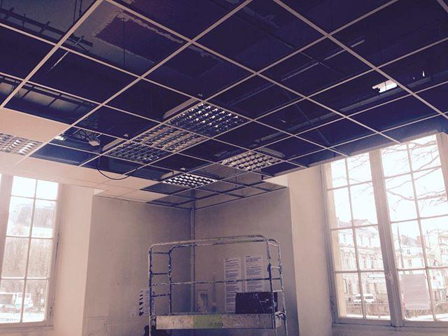 #rail faux plafond