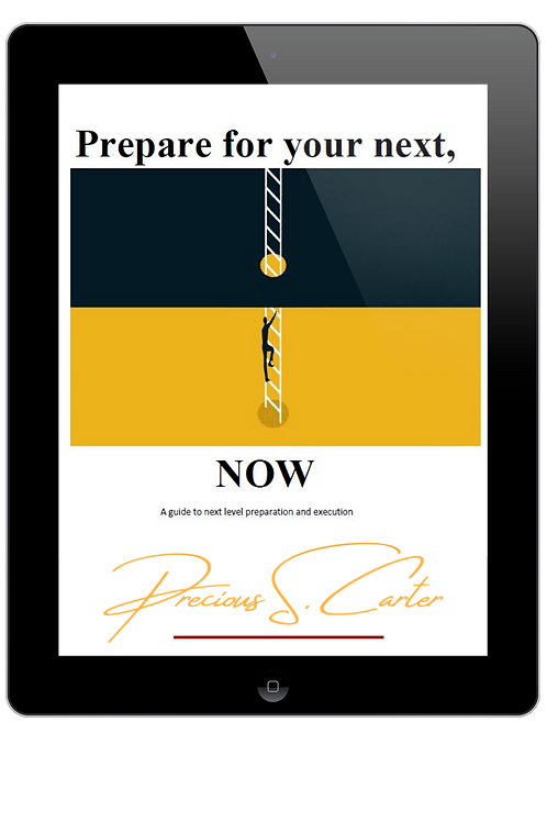 Prepare for your Next, NOW Ebook