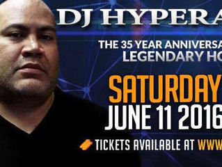 DJ Hyperactive playing Hot Mix 5 35yr Anniversary Festival in Chicago 6/11