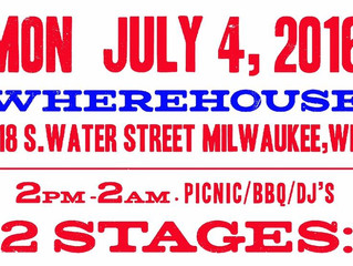 "Hypr headlining in Milwaukee for 4th of July ""go bang"" all day BBQ n BEATS event..!"