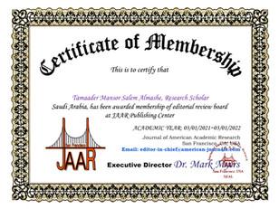 Tamaader Mansor Salem Almashe membership