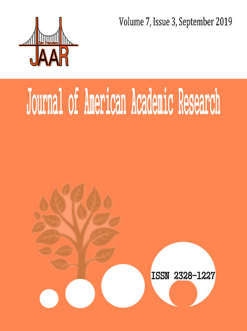 Volume 7, Issue 3, September 2019