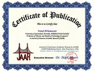 Certificate of Publicaion Faisal Hakim.j