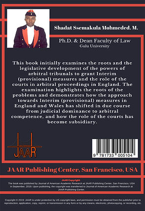 001-Dr. Shadat Mohmede Back Cover 201909