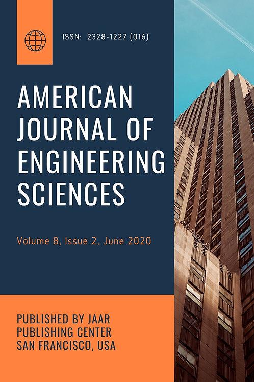 American Journal of Engineering Sciences Volume 8, Issue 2 June 202