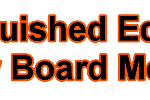 Distinguished Editorial Review Board Members