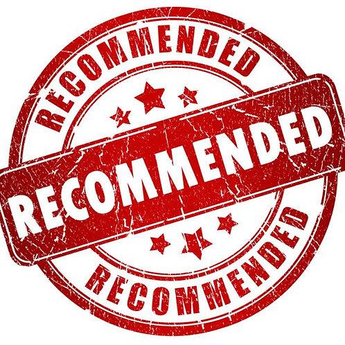 JAAR Recommendation Letter