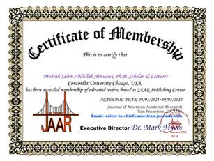 Mohrah Salem Abdullah Almuawi Membership