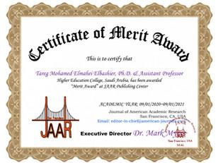 Merit Award_Tareg Mohamed Elmahei Elbash