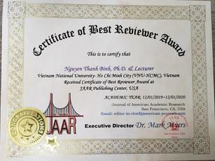 Nguyen Binh Best Reviewer Award.jpg