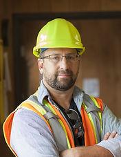 Arbetare med glasögon