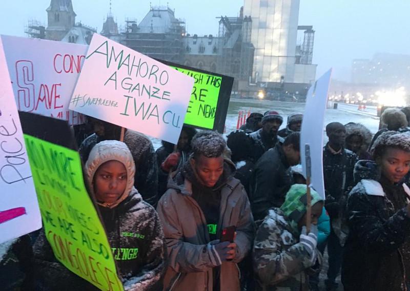 Ottawa 2019-11-11. Save Mulenge