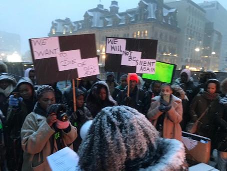 Manifestation du 11 novembre 2019 sur la colline parlementaire à Ottawa,