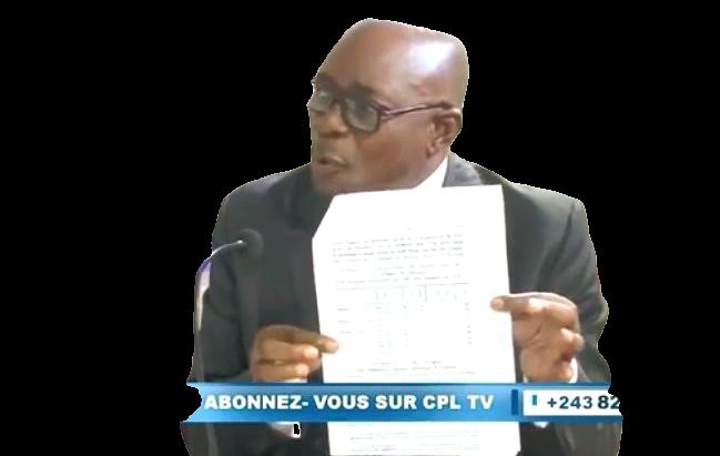 BANYAMULENGE : BELHAR MBUYI TAPE DU PIED ET DENONCE LES TRIPATOUILLEURS DE L'HISTOIRE