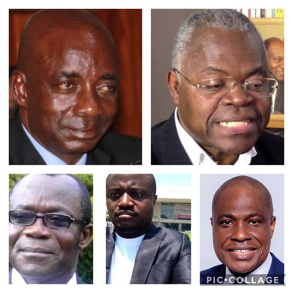 Les désinformateurs confus : Bitakwira, Kwebe, Ngbanda, Nzagi et Fayulu