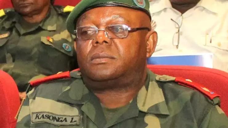 General Major Kasonga Leon Richard, Porte-parole des FARDC  (Photo: Internet)