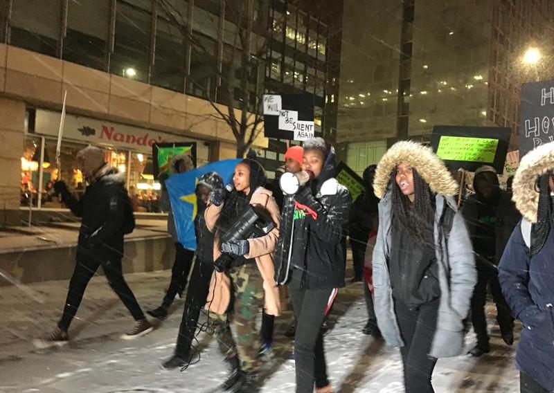 Ottawa 2019-11-11: Manifestation contre le génocide àe