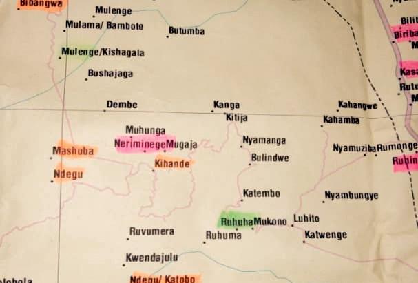 F. Bibliographie sur les Banyamulenge: Liens Internet, Cartes , Photos et Documents audiovisuels