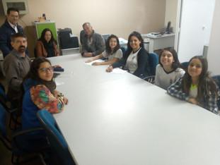 Grêmio se reúne com Secretária da Educação.
