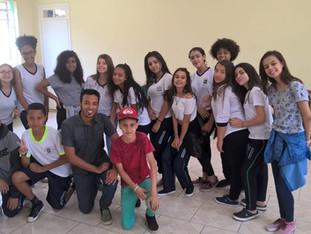 Inspetor Rodrigo realiza oficina de dança