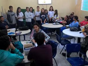Grêmio participa do HTPC dos professores