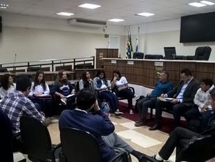 Grêmio se reúne com vereadores para cobrar as manutenções da escola