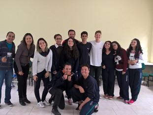 Rodas de conversa com os alunos da ETEC