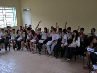 Conselho de Representantes de Turma (abril).
