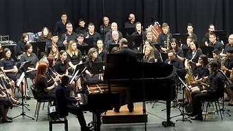 Con Octavi Ruiz y la Filarmónica de Amposta
