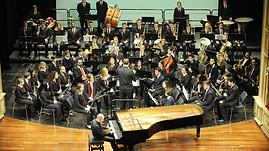 Con la Banda Municipal de Música de Maó