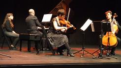 Con Sarah Bels y Jean Baptiste Texier (Trio Rec4)