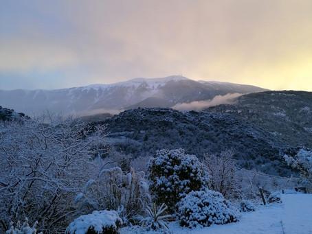 Magnifique Mont Ventoux.