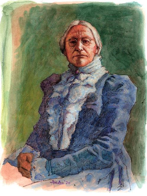 Susan B. Anthony by Lino Azevedo