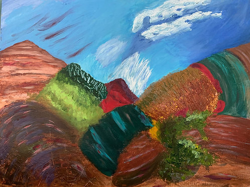 Red Mountain by Carol Anderson