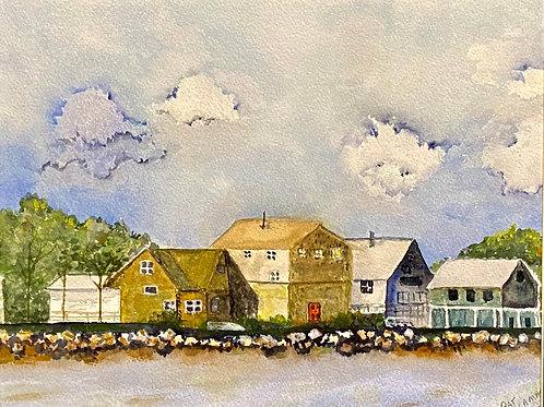 New England Coast by Patricia Lamar